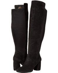 c3fcd54f93de Lyst - Nine West Kerianna Wide Calf Boots in Black