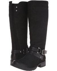 Earth - Sierra Leather Knee-High Boots - Lyst