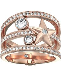 Michael Kors - Brilliance Star Banded Ring - Lyst