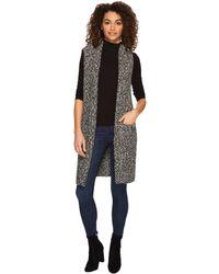 Kensie - Cotton Tweed Vest Ksdk5671 - Lyst