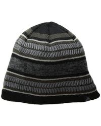 Lyst - Bula Madisson Beanie in Black for Men be0f8f883368