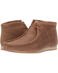 Clarks - Wallabee Step Boot - Lyst