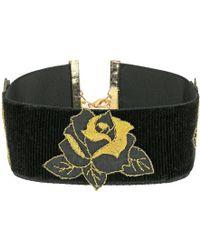 Vanessa Mooney - The Dusty Rose Choker Necklace - Lyst