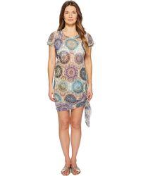 Fuzzi - T-shirt Dress Cover-up - Lyst