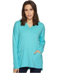 Mod-o-doc - Soft As Cashmere Knit Boxy Pullover Hoodie - Lyst
