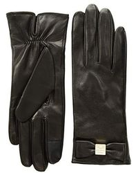 Kate Spade - Hardware Bow Tech Gloves (black) Extreme Cold Weather Gloves - Lyst