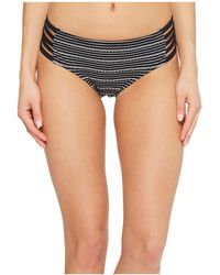 Jantzen - Jacquard Pointelle Strappy Side Hipster Bikini Bottom - Lyst