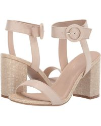 351cb2e2ec Lyst - Free People Belmont Leather Clog in Pink