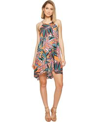 "Jack BB Dakota - Farrow ""jungle Sunrise"" Printed Rayon Crepe Dress - Lyst"