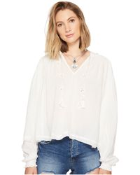 Free People - Tropical Summer Hooded Top - Lyst