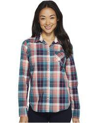 U.S. POLO ASSN. - Cotton Poplin Plaid Shirt - Lyst
