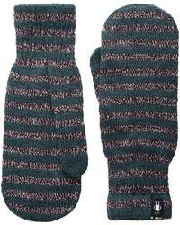 Smartwool - Striped Knit Mitt - Lyst