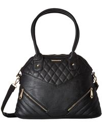 Rampage - Quilted Piecing Satchel - Lyst