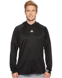adidas - Team Issue Lite Pullover Hoodie - Lyst