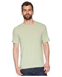 Agave - Bishop Rock Short Sleeve Crew Neck (smoke Green) Short Sleeve Pullover - Lyst