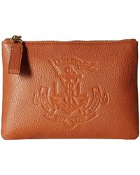 350e2eb67b Lyst - Lauren by Ralph Lauren Belt Bag in Brown - Save 20%