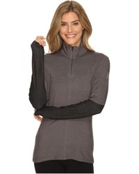 Spyder - Lapis Therma Stretch T-neck Top - Lyst