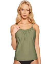 Next By Athena - Good Karma Third Eye 2 Shirr Tankini Top - Lyst