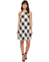Bishop + Young - Plaid Shift Dress - Lyst