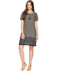 Dylan By True Grit - Modern Gypsy Short Sleeve Dress With Lining And Pockets - Lyst