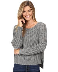 Kut From The Kloth - Page Chunky Crew Neck Top - Lyst