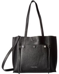 Calvin Klein | Unlined Jet Link Tote | Lyst