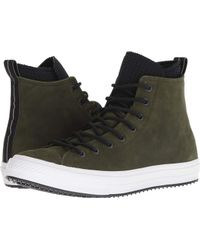 06fe5439f917 Lyst - Converse Chuck Taylor® All Star® Waterproof Boot Nubuck Hi ...