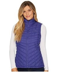 102f18621 The North Face Ma Thermoball Vest in Purple - Lyst