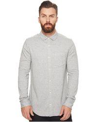 Original Penguin - Long Sleeve Knitted Nep Shirt - Lyst