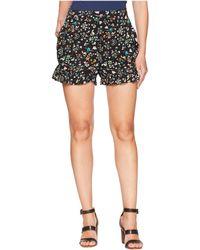 BCBGMAXAZRIA - Ruffle Shorts - Lyst
