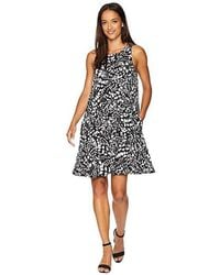 0a33edddd986 Karen Kane Chloe Print Shift Dress - Lyst