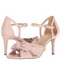 dbbd4a15df MICHAEL Michael Kors - Pippa Open Toe (soft Pink Nappa) Dress Sandals - Lyst