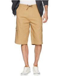 Sean John - Angled Pocket Linen Shorts 2016 - Lyst