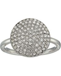 Michael Kors - Pave Disk Ring - Lyst