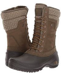 a0412e1c2 Women's The North Face Mid-calf boots On Sale - Lyst