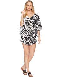e0cf5ec976e Luli Fama - Cayo Setia Cabana V-neck Dress Cover-up - Lyst