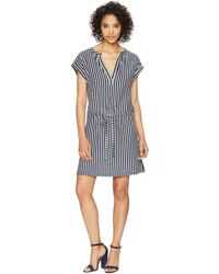 Dylan By True Grit - Montauk Stripes Tunic Dress - Lyst