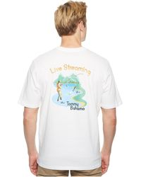 Tommy Bahama - Live Streaming Tee - Lyst