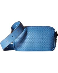 Cole Haan - Woven Leather Zoe Camera Bag - Lyst
