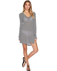 Splendid - Itsy Ditsy Floret Hoodie Tunic Cover-up - Lyst