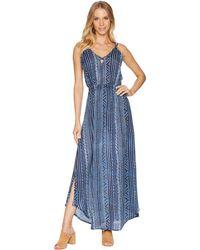 Rip Curl - Blue Tides Dress - Lyst