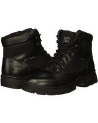 f5a6a8be38b5 Lyst - Skechers Work Conroe - Centerton in Black for Men