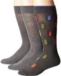 Hue - Beer Socks With Half Cushion 3-pack - Lyst