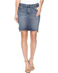 Joe's Jeans - High-low Pencil Skirt In Sanja - Lyst