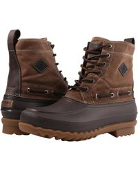 Sperry Top-Sider - Decoy Boot Waxed Canvas Waterproof - Lyst