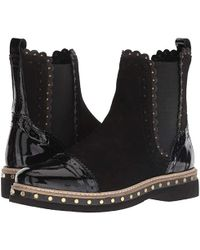 Free People - Atlas Chelsea Boot (black) Pull-on Boots - Lyst
