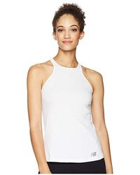 f03dbede8f2e2 New Balance Athletics Tank Top (white) Sleeveless in White - Lyst