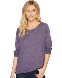 Alternative Apparel | Eco-heather Slouchy Pullover | Lyst
