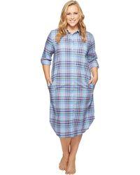 Lauren by Ralph Lauren - Plus Size Ballet Length Sleepshirt - Lyst