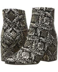 3432a48816917a Sam Edelman - Taye Jacquard Ankle Boots - Lyst